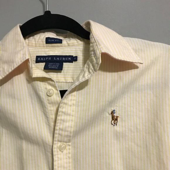 9ef2d57b Women's Ralph Lauren slim fit oxford shirt -0